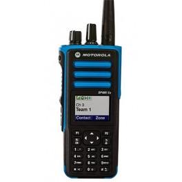 DP4801 Ex VHF (136-174 Mhz). Portátil Digital ATEX, GPS con teclado.