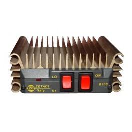 ZETAGI B153 AMPLIFICADOR HF 26-30 Mhz 12V -100 W TRANSISTORES TIPO M