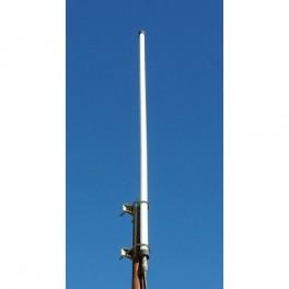 Antena VHF/UHF sin radiales alta ganancia (Marina/HAM radio)