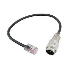 Cable adaptador de micrófono 8 Pines a RJ45