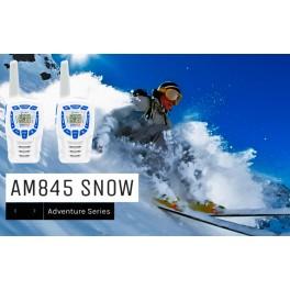 COBRA AM-845-SN Pareja walkies PMR uso libre color blanco alcance 10km