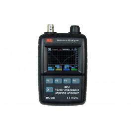 MFJ-223 Analizador antena VNA graficos color 1-60 Mhz