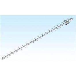 23CM22EZA - ANTENA M2 1250-1300 MHZ. 22 ELEMENTOS, 18 DBI.