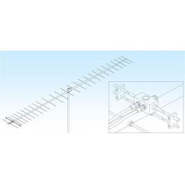4329WL - ANTENA M2 420-440 MHZ. GANANCIA 19.4 DBI, 28 ELEMENTOS.