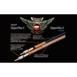100 M - HYPERFLEX-5 M&P Cable Coaxial alta calidad profesional Diametro 5,4 mm