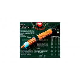100 Metros - ULTRAFLEX10 M&P Cable Coaxial alta calidad profesional