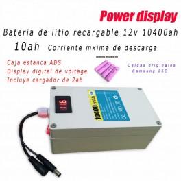 Bateria recargable Li-ion 12v/10500ah