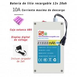 Bateria recargable Li-ion 12v 21500mAh Samsung
