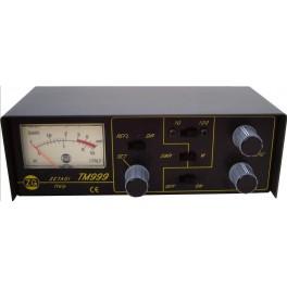 TM999 ZETAGI transmatch (acoplador de antena) + medidor de 26 a 28 Mhz