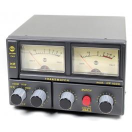 HP1000 ZETAGI transmatch (acoplador de antena) + medidor de 26 a 28 Mhz