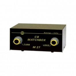 M27 MATCH BOX ZETAGI acoplador de antena 26 - 28 Mhz.