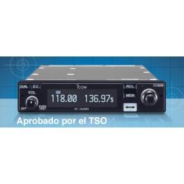 IC-A220 TSO - Transceptor banda aérea VHF TSO