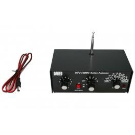 MFJ 1020C Antena Activa para recepción RX de 300 Khz. a 40 Mhz.