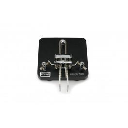 MFJ564-B Llave tipo paleta telegráfica MFJ manipulador de MORSE Negro