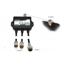 COMET CFX-514N Triplexor 3 salida1,3 - 90 /130 - 200/ 380-500 Mhz