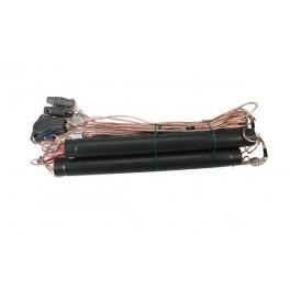LEMM AT50 Antena Dipolo bandas 40 - 80 - 160 metros (7 Mhz. - 3,5 Mhz....
