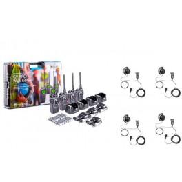 MIDLAND G9-PRO WORK 4 Pack 4 walkies completos de uso libre PMR 446
