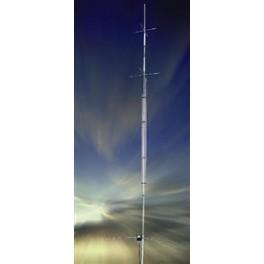 R-8 - ANTENA VERTICAL HF 6-10-12-15-17-20-30-40 M. SIN RADIALES.