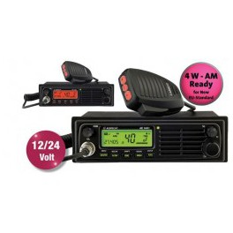 ALBRECHT AE-6491 CB AM/FM A 12 Y 24 V