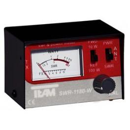 SWR-1180-W - Medidor SWR y watímetro. 1.7-30 MHz.