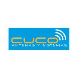 Antena doble Bazooka para 6m. CUCO